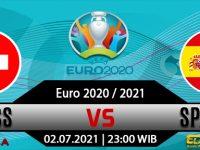 Prediksi Bola Swiss Vs Spanyol 02 Juli 2021