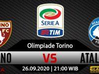 Prediksi Bola Torino Vs Atalanta 26 September 2020