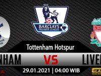 Prediksi Bola Tottenham Hotspur Vs Liverpool 29 Januari 2021