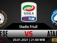 Prediksi Bola Udinese vs Atalanta 20 Januari 2021