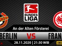 Prediksi Bola Union Berlin vs Eintracht Frankfurt 28 November 2020