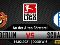 Prediksi Bola Union Berlin vs Schalke 04 14 Februari 2021