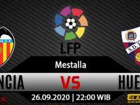 Prediksi Bola Valencia vs Huesca 26 September 2020