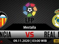 Prediksi Bola Valencia vs Real Madrid 09 November 2020