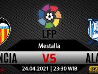 Prediksi Bola Valencia vs Alaves 24 April 2021