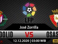 Prediksi Bola Real Valladolid vs Osasuna 12 Desember 2020