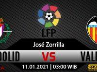 Prediksi Bola Real Valladolid vs Valencia 11 Januari 2021
