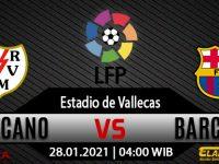 Prediksi Bola Rayo Vallecano vs Barcelona 28 Januari 2021