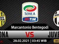 Prediksi Bola Hellas Verona vs Juventus 28 Februari 2021