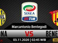 Prediksi Bola Hellas Verona vs Benevento 3 November 2020