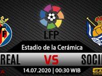 Prediksi Bola Villarreal Vs Real Sociedad 14 Juli 2020