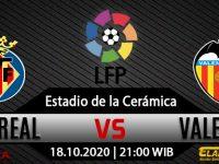 Prediksi Bola Villarreal vs Valencia 18 Oktober 2020