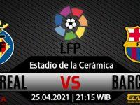 Prediksi Bola Villarreal vs Barcelona 25 April 2021