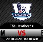 Prediksi Bola WBA Vs Burnley 19 Oktober 2020
