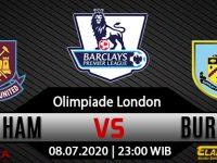 Prediksi Bola West Ham United Vs Burnley 09 Juli 2020