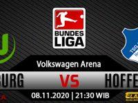 Prediksi Bola Wolfsburg vs Hoffenheim 8 November 2020