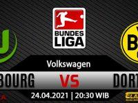 Prediksi Bola Wolfsburg Vs Borussia Dortmund 24 April 2021
