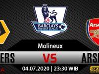 Prediksi Bola Wolverhampton Wanderers Vs Arsenal 04 Juli 2020