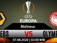 Prediksi Bola Wolverhampton Vs Olympiacos 07 Agustus 2020