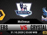 Prediksi Bola Wolverhampton vs Crystal Palace 31 Oktober 2020